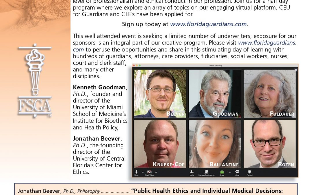 2nd Annual Symposium on Ethics